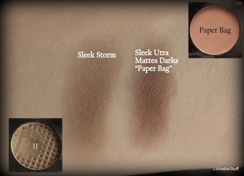 Comparison, review, brown shades