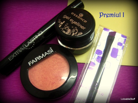 essence gel eyeliner brush farmasi Avon extralasting