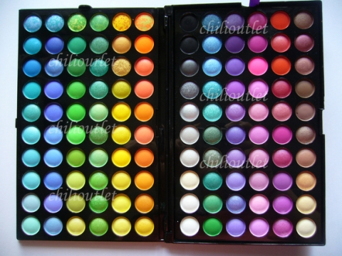 120 shade palette