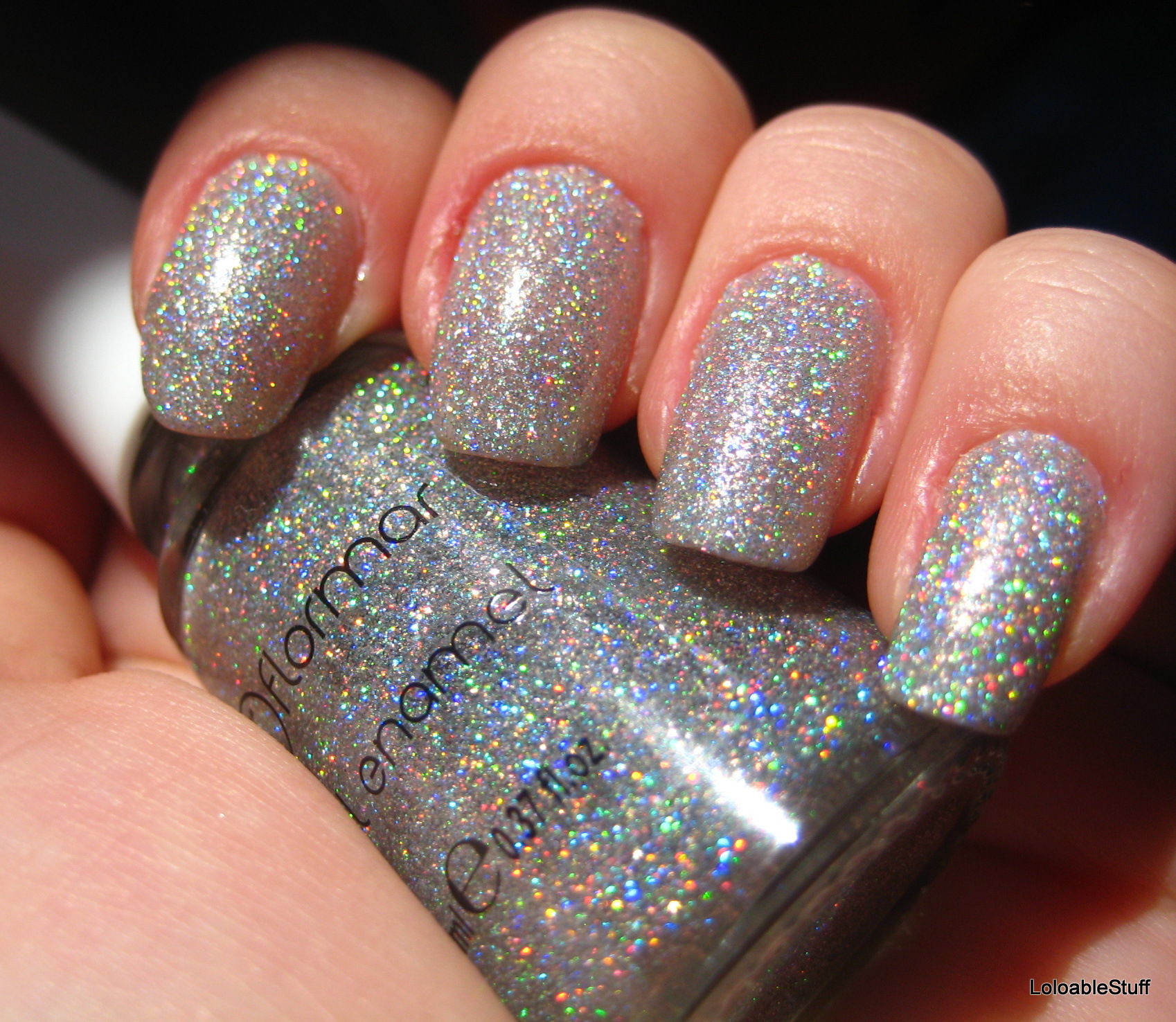Glitter varnish best quality microfiber cloths