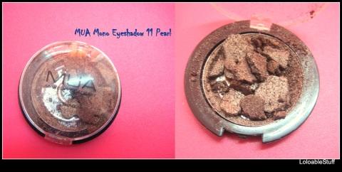 mua mono eyeshadow 11 pearl fard pleoape spart reparat broken fixed