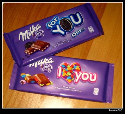 Milka limited edition Oreo