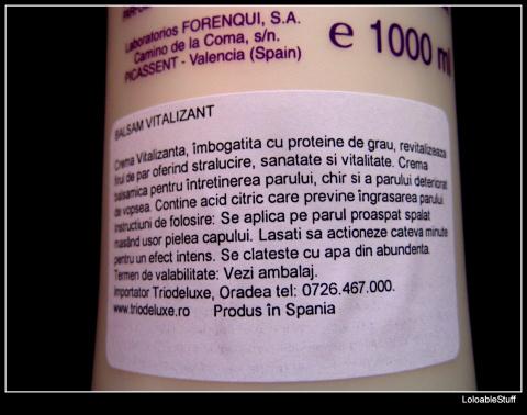 Descriere utilizare clatire balsam anian triodeluxe comanda