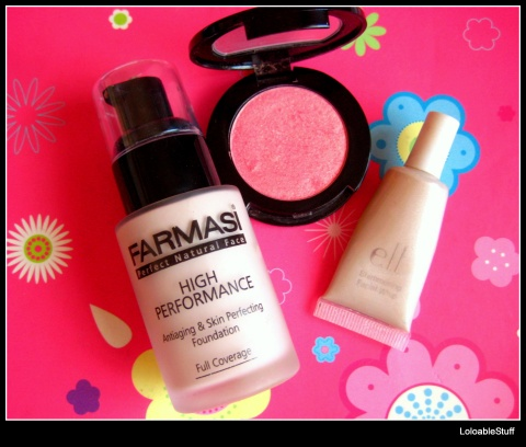 April Favorites face fata Farmasi fond de ten High Performance Blush moni nr 19 elf Lilac Petal