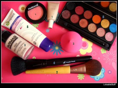 April Favorites elf Farmasi Sleek brushes blush Beauty Blender Dupe Elmiplant