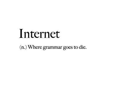Definitia Definition of Internet gramatica grammar nazi
