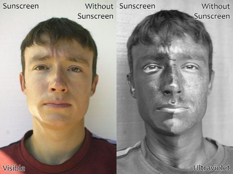 UV and Visual Sunscreen