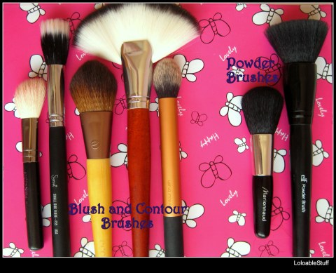 Powder Blush and Contouring brushes elf Marionnaud EcoTools Sigma