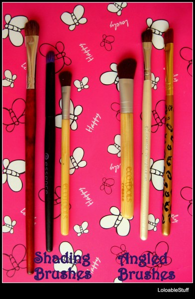 eye brushes shading angled brush elf EcoTools Essence