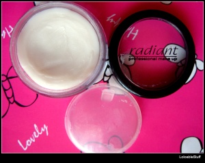 radiant eyeshadow base primer review swatch