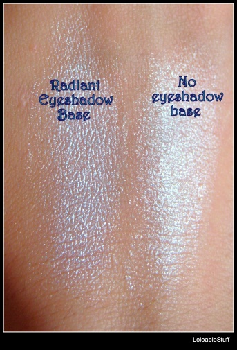 eyeshadow base Radiant white sillicone
