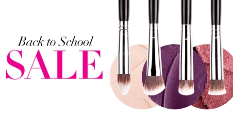 Sigma Beauty Make-up Brushes Back to School Sale pensule machiaj