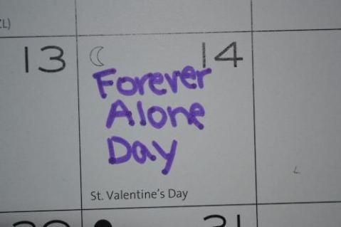 Valentine's Day singur idee