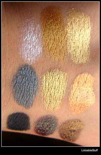 Qianyu UD Naked swatch picture