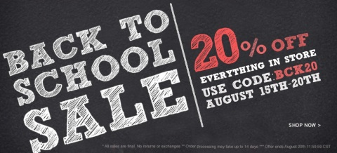 Cherry culture back to school 20% off sale code reduceri cod