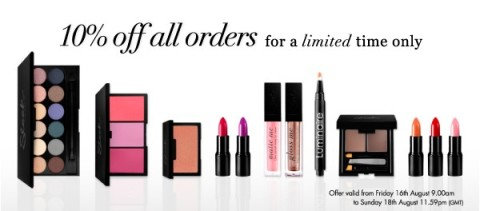 Sleek Make-Up Sale