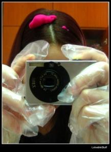 aplicare vopsea par spuma mousse hair dye trendy colors