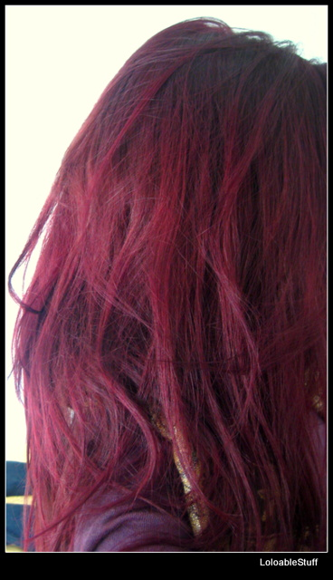 Trendy Colors Mousse semi permanent hair dye vopsea par magenta pink roz review rezultat