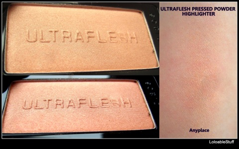 ULTRAFLESH Shinebox Highlighter Shimmer Collection Review StrawberryNet LoloableStuff blog all over enhancer