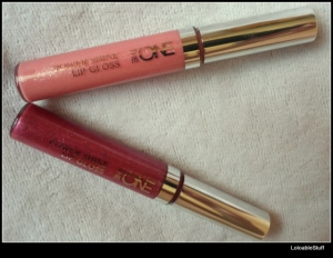 Oriflame TheONE Power Shine Lip Gloss Rose Glacier Trendy Berry review LoloableStuff