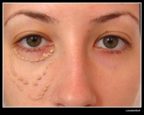 Concealer aplicare LoloableStuff Oriflame TheOne