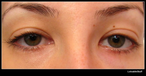 The one Oriflame Illuskin concealer volume blast mascara review final result comparison LoloableStuff