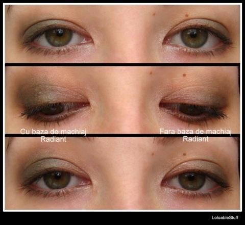 Color Impact Oriflame cream eyeshador fard crema cu sau fara baza de machiaj make-up base primer LoloableStuff