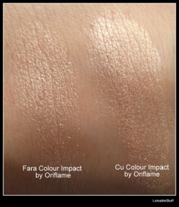 Beige Pearl iluminator highlighter rezistenta fard LoloableStuff Color Impact Oriflame
