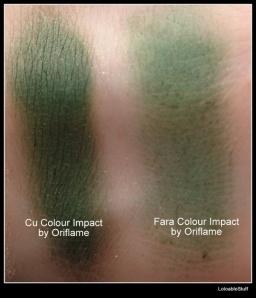 Olive Green Color Impact Oriflame cream eyeshadow Fard Crema rezistenta primer baza LoloableStuff