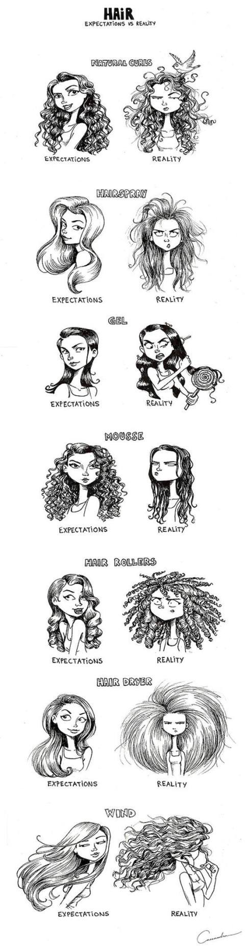 Girl thing beauty struggle expectation reality LoloableStuff blog