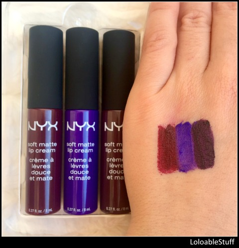 beauty products I regret buying disappointments  2016 NYX soft matte lip cream swatch liquid lipstick